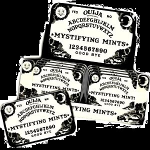Ouija Board Candy Mints and Ouija Board Tin