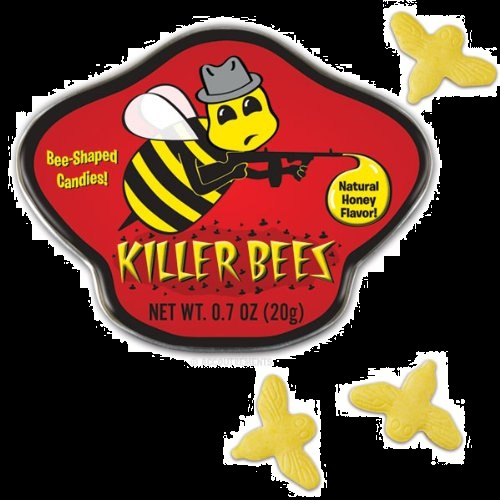 Top Halloween Candy of 2012 Honey Flavored Killer Bees Candy