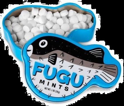 Top Halloween Candy 2012 Poisonous Fugu Mint Candy