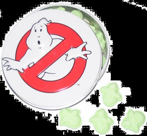 Top Halloween Candy 2012 Ghostbusters Sour Slimer Candy