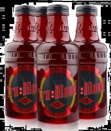 2012 Top Halloween Candy Tru Blood HBO Vampire Drink