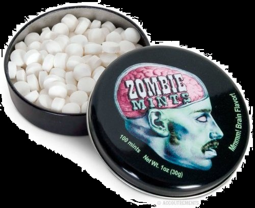 Top Halloween Candy 2012 Zombie Brains Mints