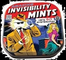 Top Halloween Candy of 2012 Invisibility Mints & Tin