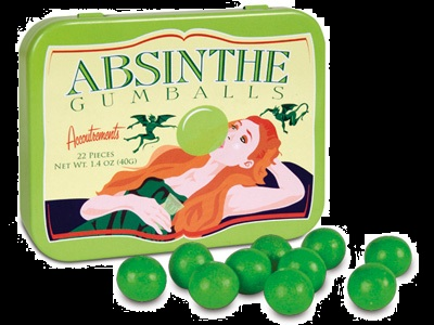 Top Halloween Candy 2012 Gum Absinthe Flavor