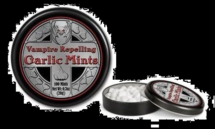 Top Halloween Candy 2012 Vampire Garlic Mints