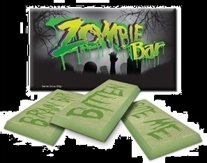 Top Halloween Candy 2012 Zombie Chocolate Candy Bar