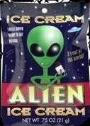 Alien Ice Cream Astronaut Food For Sale