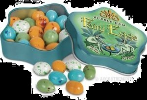 Top Halloween Fairy Gum Eggs and Tin